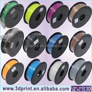 ABS and PLA filament for 3d printer 1.75mm 3mm LANKEDA supplier