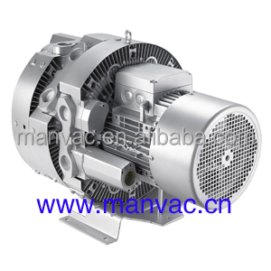 LD 075 H43 T36 1040mbar 7.5kw 10hp triple stage high pressure ring blower with motor