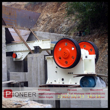 2017 Different strcture stone jaw crusher