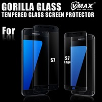 High quality full screen cover anti-scratch mobile phone tempered glass screen protector for Samsung Galaxy s7 & s7 edge