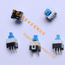 Wholesale Best quality best sell Vertical 4 pin smd Push Switch 7X7-2P2T