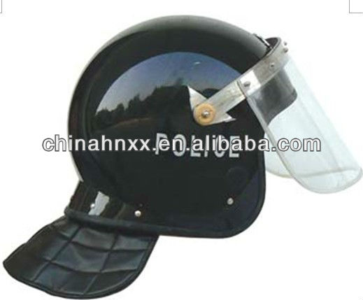 Anti riot police helmet with visor for control riot