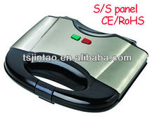 CE approval portable S/S grill sandwich maker,waffle maker