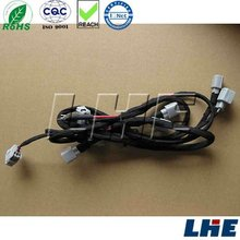 car audio wire harness 6 pin connector cable connector