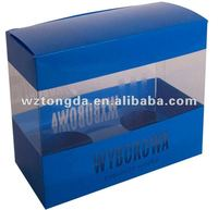 pvc rectangle plastic box for toy