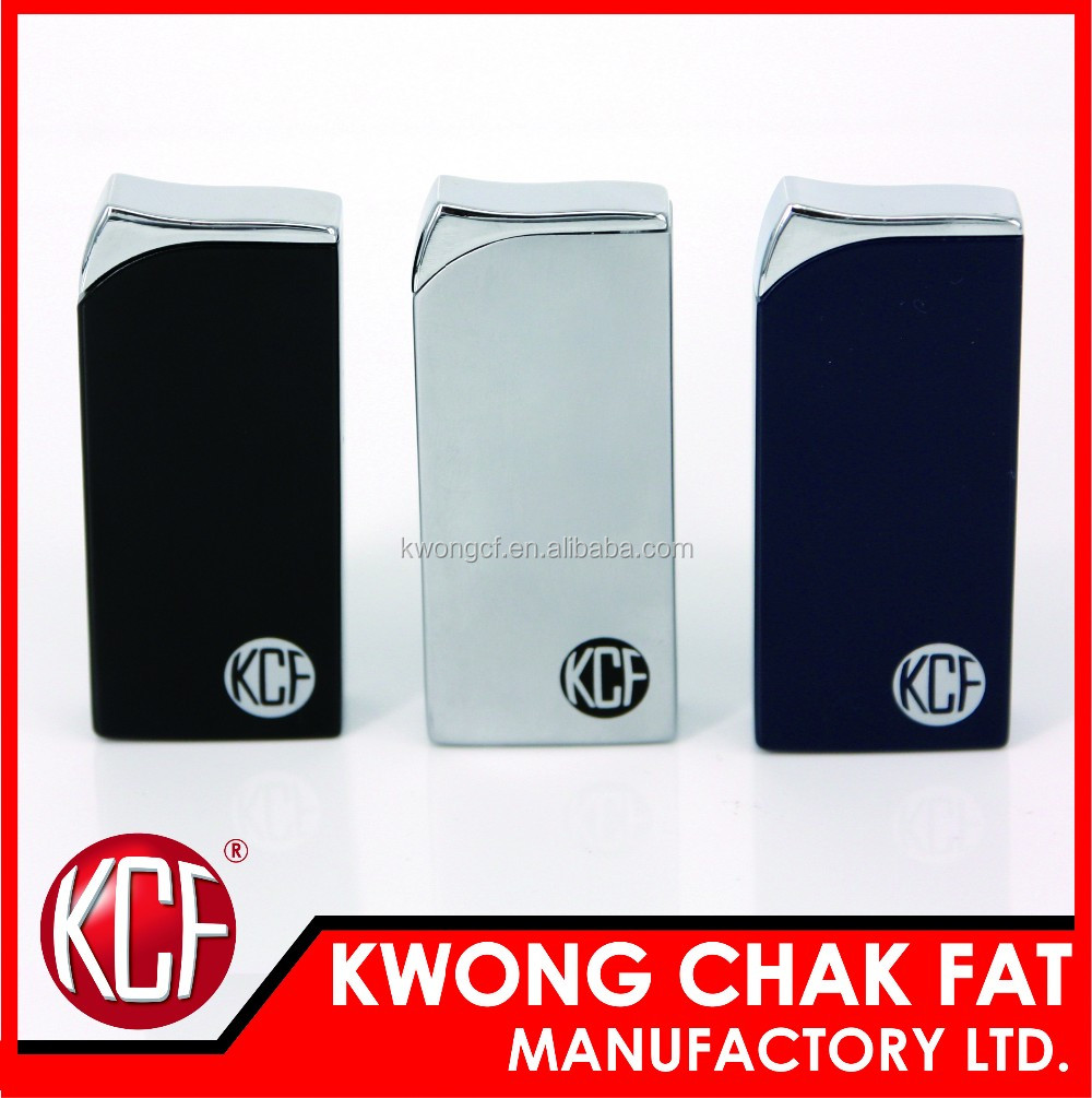 Hot sale! KCF-137 Refillable Gas Normal Flame Metal Clipper Lighter