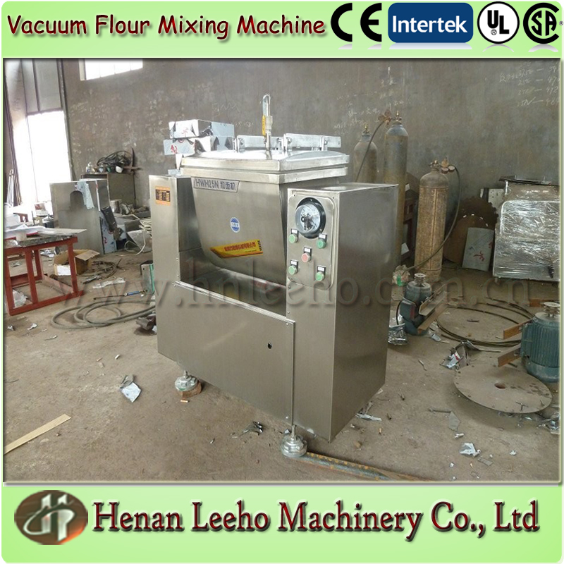 vacuum dough flour mixing machine for dumpling, noodle,samosa, bread