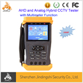 1080P AHD and Analog Hybrid Security CCTV Tester with Multimeter Function