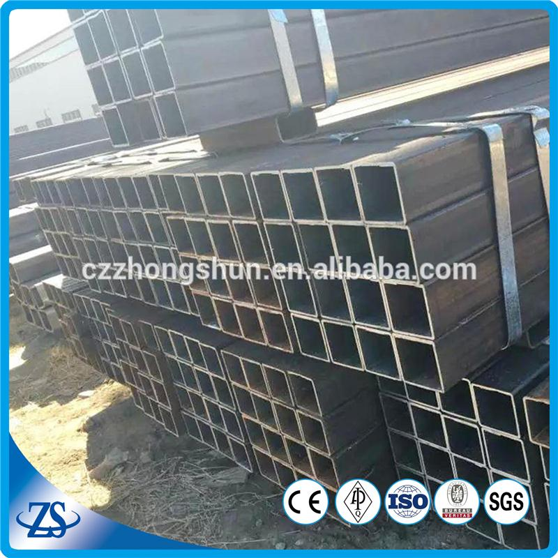 ASTM A500 Mild Steel Square Hollow Section 16 x 16 x 0.4-1.5 mm for structural steel pipes with stock