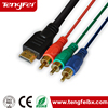 VGA to rca converter cable male vga to female 3 rca adapter splitter cable