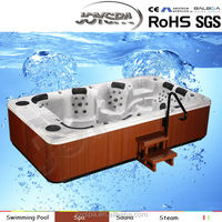 JOYSPA deluxe outdoor spa, big plastic tub, best massage tubes - JY8001(factory)