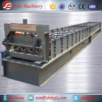 0.8-1.2mm thickness metal decking roll forming machine for floor deck making