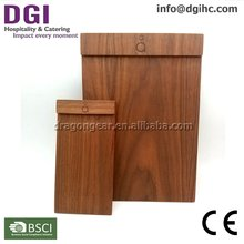 Catering equipment wooden menu holder menus with best price high quality