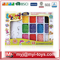 Meiyijia Direct selling hama plastic ironing beads diy jigsaw puzzle from China for kids BT-0057C
