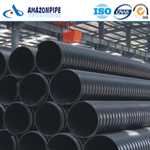 Large Diameter Steel Reinforced Spirally HDPE Drainage Pipe