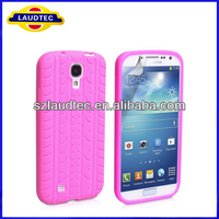 Fashion 3D Tyre Style Case for S4 i9500 Soft Back Case for Samsung Galaxy S4 i9500