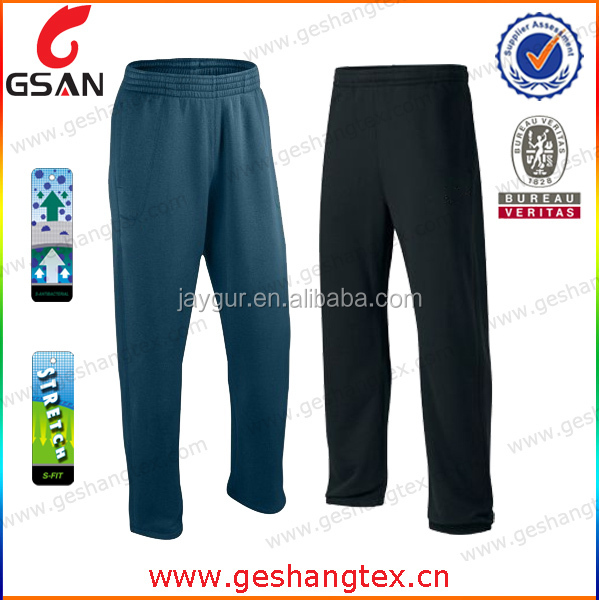 Wholesale Custom Fashion Blank Light 4 Way Stretch Gym Men Jogger Pants