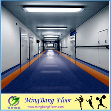 Antistatic Flooring Roll/Hospital Popular Homogeneous PVC Vinyl Flooring In Roll