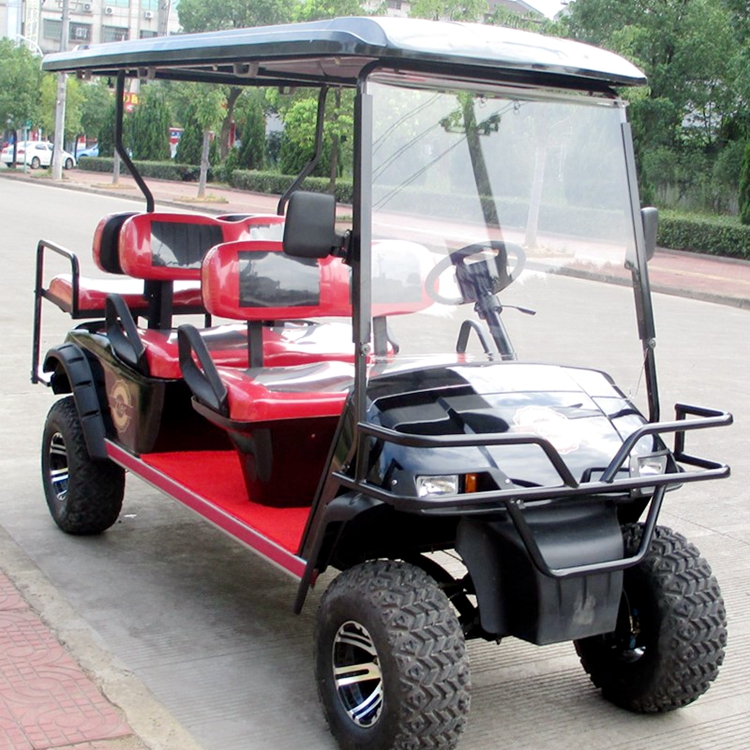 Chinese carts electronic golf cart With mp3 play