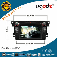 2016 touch screen android 5.1.1 MP3 player car DVD player for mazda CX-7