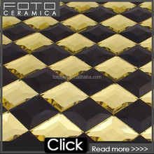 Rectangle beveled mirror tiles