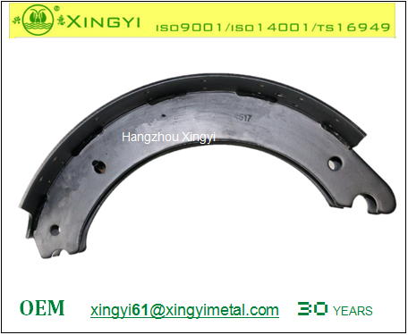 Weld brake shoe / rear brake shoe / bear brake shoe 4517