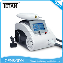 TB-421 Long pulsed nd yag laser tattoo removal machines/laser varicose vein removal for sale