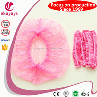 Non-woven bouffant caps CE food industry medical processing disposable caps disposable bouffant surgical cap