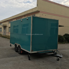 China Moble Food Trucks Best Designed Mobile Fast Food trailer
