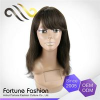 The Most Popular Best Price 100% Comb Human Hair Wigs For Sale With Led Lights