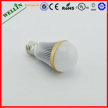 2013 Factory Price 2700-8000k AC85-265V E27 led bulb 5W