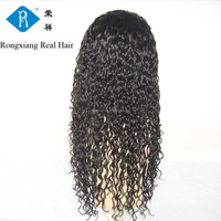 Cheap wholesale factory price 100% kinky twist human hair full lace wig
