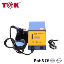 TGK-942 Good stability LED display lcd soldering station hot air gun