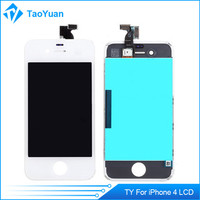 high quality Cheapest LCD Assembly Complete digitizer lcd for iphone 4,for iphone 4 logic board