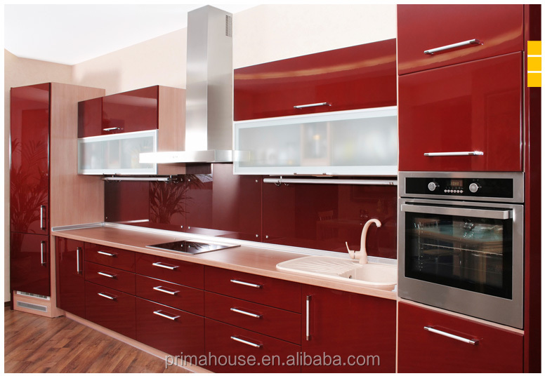 Commercial restaurant kitchen cabinets laminate sheet portable kitchen cabinets for hotel
