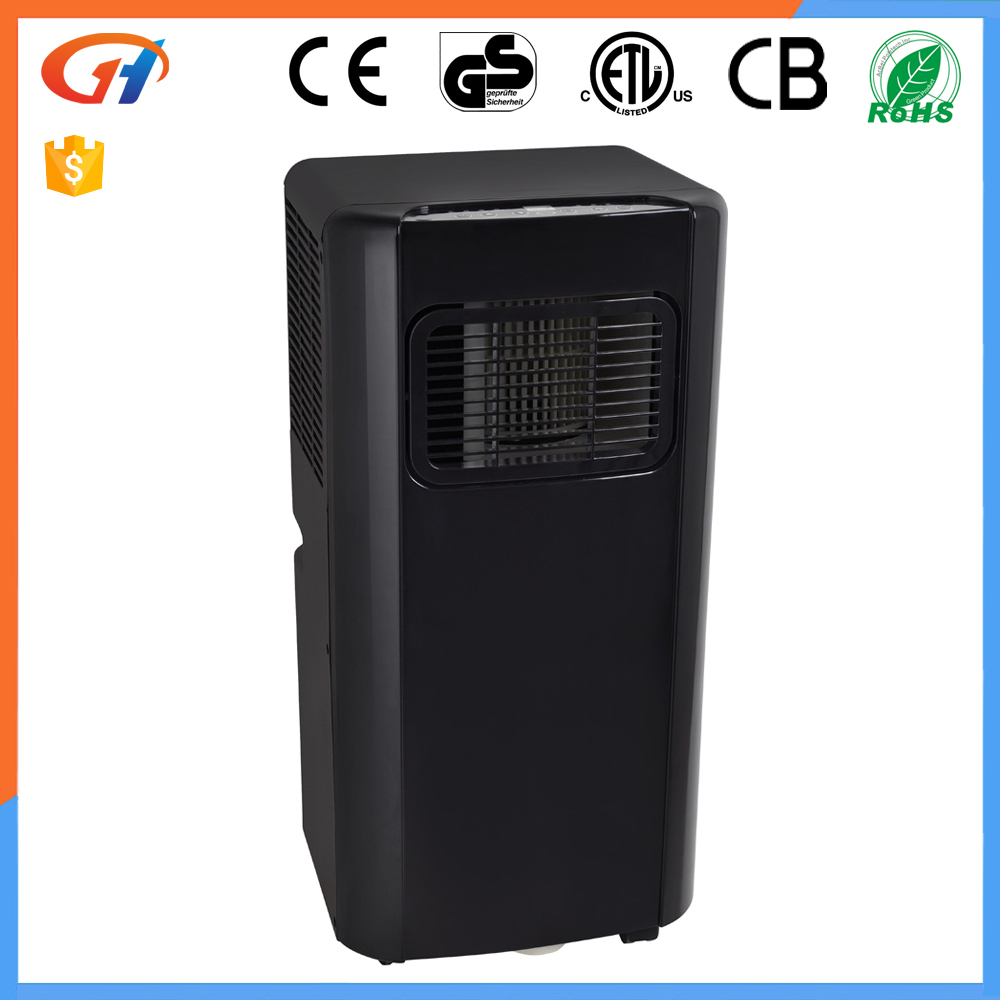POS Black 220V 7000 BTU Wholesale Portable Air Conditioners with CE GS ETL ROHS