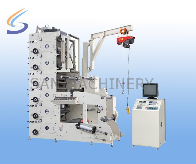 CE Automatic Paper Cup and Plate Flexo Printing Die Cutting Machine Price