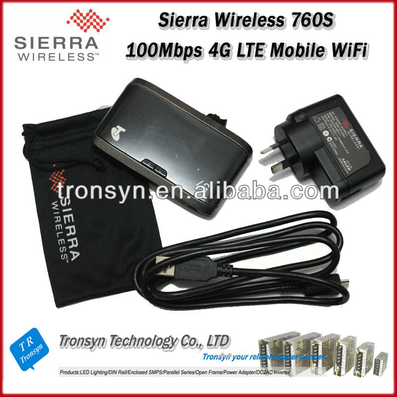 New Original Unlock LTE FDD 100Mbps Sierra Wireless Aircard 760S 4G LTE WiFi Router And 4G Mobile WiFi Hotspot