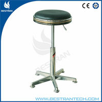 BT-DS006 Gas spring Stainless steel height adjustable medical stool