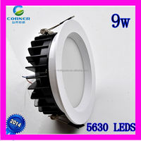 2014 new design 9w 720lm smd5630 led downlight india xxxx