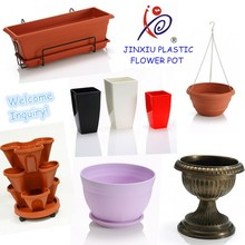 Various plastic flower pot garden plastic planter
