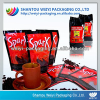 custom printing ground coffee bag cheap food packaging for sale