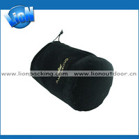 Wholesale price velvet online trade large draw string pouch bag