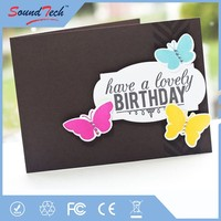 Voice recording greeting card