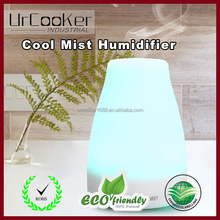 Portable Ultrasonic Essential Oil Diffuser, Aromatherapy Diffuser, Ultrasonic Aroma Diffuser Humidifier with Color LED Lights