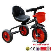 12 inch steel three wheels children tricycle china baby toy bike