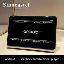 New 10.1 inch IPS HD Screen Android 6.0 Car Headrest DVD Player With USB HDMI and DVD