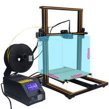 CR-10 high-precision large size DIY 3D printer connect computer