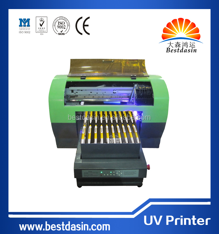 Business card USB flash drive printing machine /USB key printer / pen printer A3 UV3358 eco solvent printer