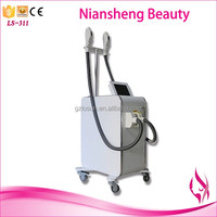 OME/ODM Vertical pain free hair removal beauty machine laser ipl depilation